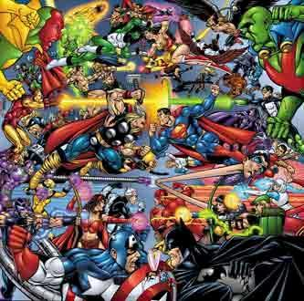 JLA Avengers in epic battle!
